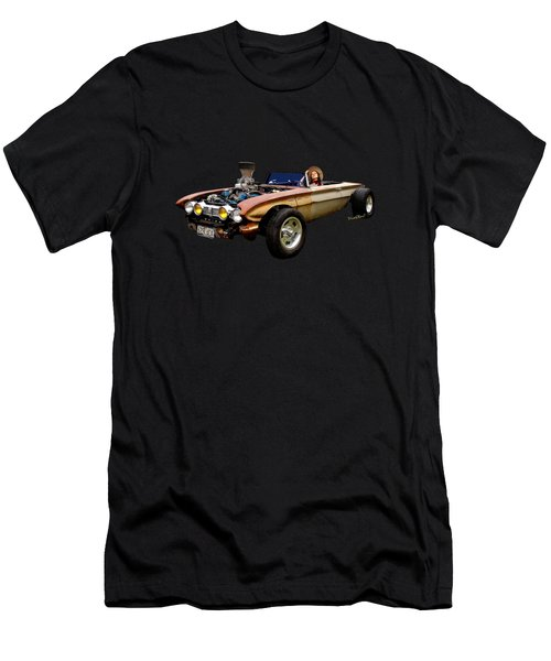 62 Buick Rat Rod Roadster Flaca Men's T-Shirt (Athletic Fit)