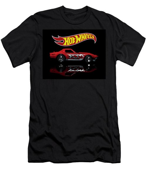 '69 Chevy Corvette Men's T-Shirt (Athletic Fit)