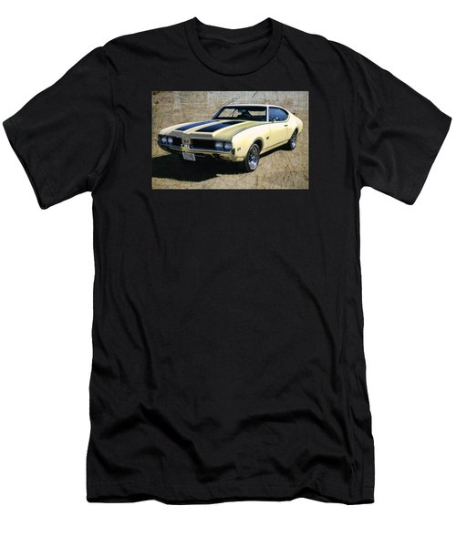 '69 Oldsmobile 442 Men's T-Shirt (Slim Fit) by Victor Montgomery