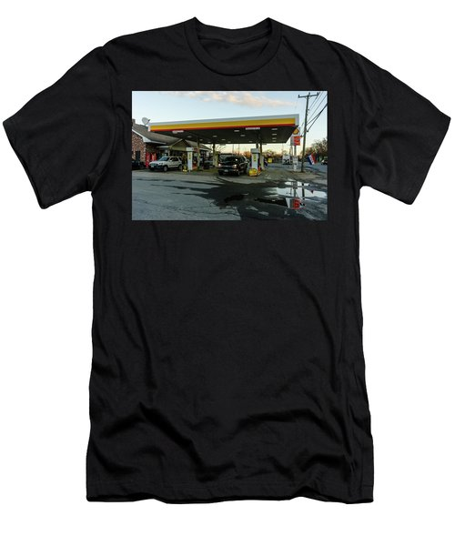 6a Station. Men's T-Shirt (Athletic Fit)