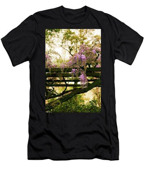 Wisteria Wonder Men's T-Shirt (Athletic Fit)
