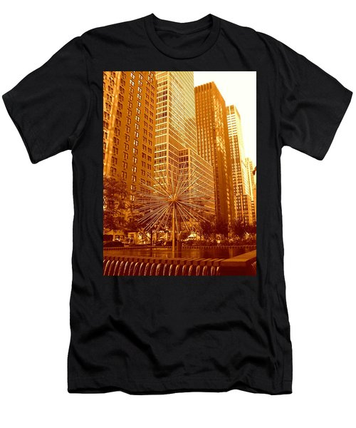 6th Avenue In Mahattan Men's T-Shirt (Athletic Fit)