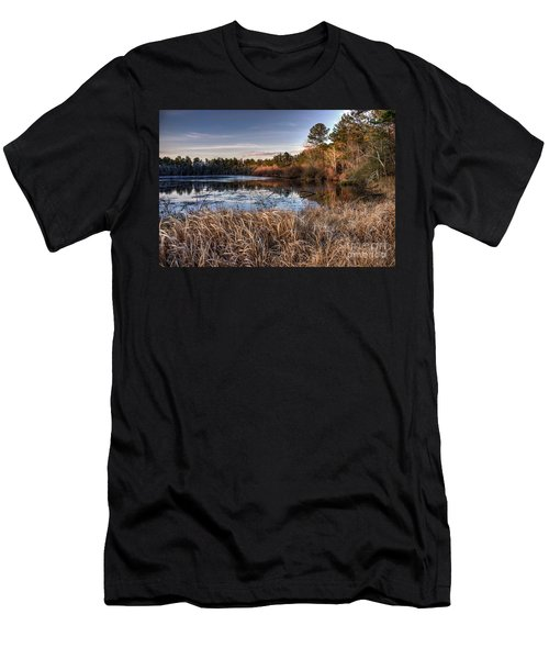 Flint Creek Men's T-Shirt (Slim Fit) by Maddalena McDonald