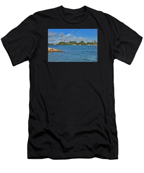 7- Jupiter Lighthouse Men's T-Shirt (Athletic Fit)