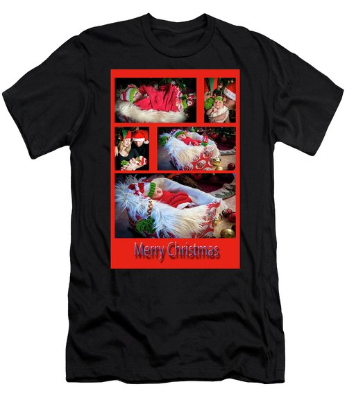 Merry Christmas Men's T-Shirt (Slim Fit) by Ivete Basso Photography