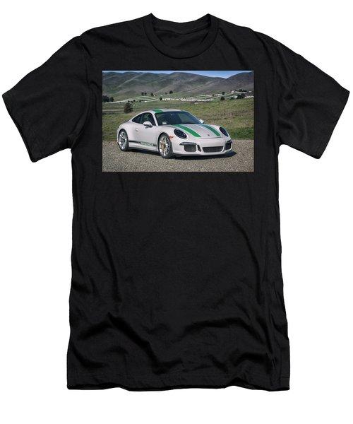 #porsche #911r #print Men's T-Shirt (Athletic Fit)