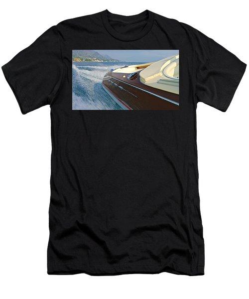 Riva Wake Men's T-Shirt (Athletic Fit)