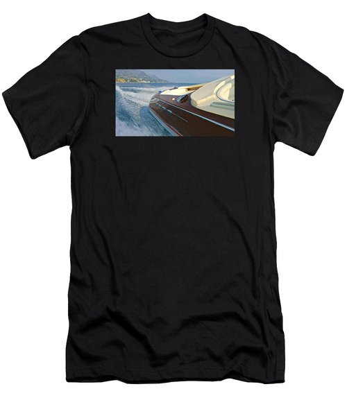 Riva Wake Men's T-Shirt (Athletic Fit)