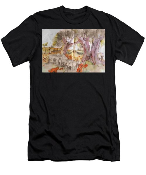 Trees Trees Trees Album Men's T-Shirt (Athletic Fit)