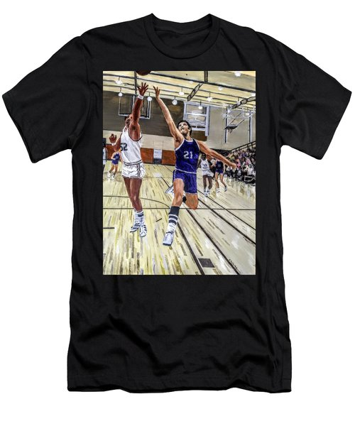 70's Layup Men's T-Shirt (Athletic Fit)