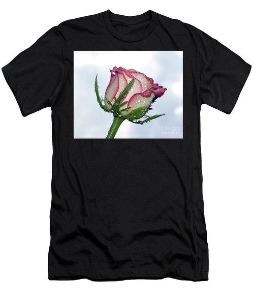 Beautiful Rose Men's T-Shirt (Athletic Fit)