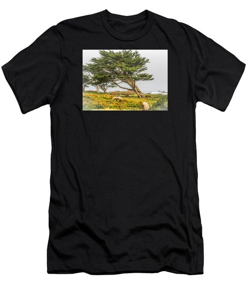 #7803 - Monterey, California Men's T-Shirt (Athletic Fit)