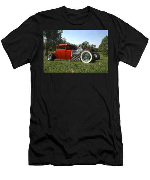 1930 Ford Coupe Hot Rod Men's T-Shirt (Athletic Fit)