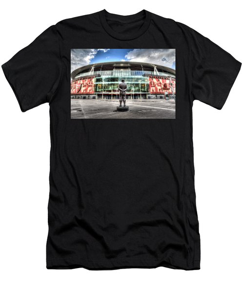 Arsenal Fc Emirates Stadium London Men's T-Shirt (Athletic Fit)