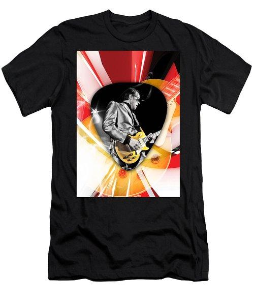 Joe Bonamassa Blues Guitarist Art Men's T-Shirt (Athletic Fit)