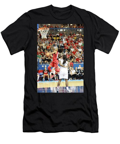 Pam Am Games Womens' Basketball Men's T-Shirt (Athletic Fit)