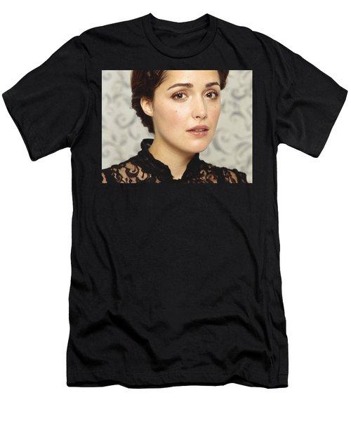 Rose Byrne Men's T-Shirt (Athletic Fit)