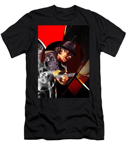 Santana Art Men's T-Shirt (Slim Fit) by Marvin Blaine