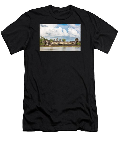 Angkor Wat In Cambodia Men's T-Shirt (Athletic Fit)