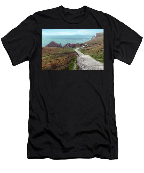 Durdle Door - England Men's T-Shirt (Athletic Fit)