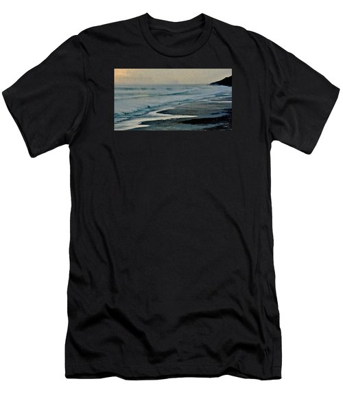 Stormy Morning At The Sea Men's T-Shirt (Athletic Fit)