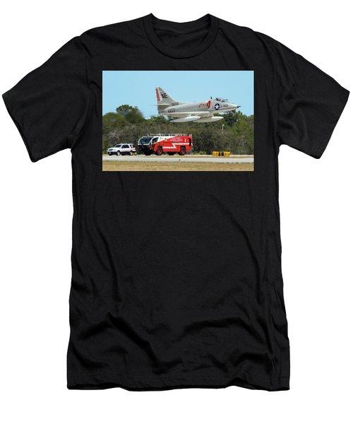 A-4 / Firetruck Men's T-Shirt (Athletic Fit)