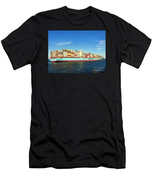 A Barge Can Be Beautiful Men's T-Shirt (Athletic Fit)