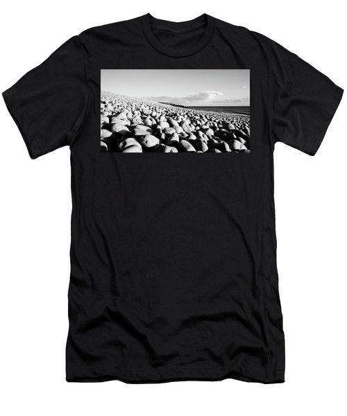 A Beach Of Stones Men's T-Shirt (Athletic Fit)