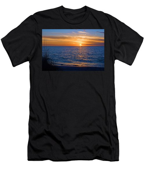 A Beautiful Sunset In Naples, Fl Men's T-Shirt (Athletic Fit)
