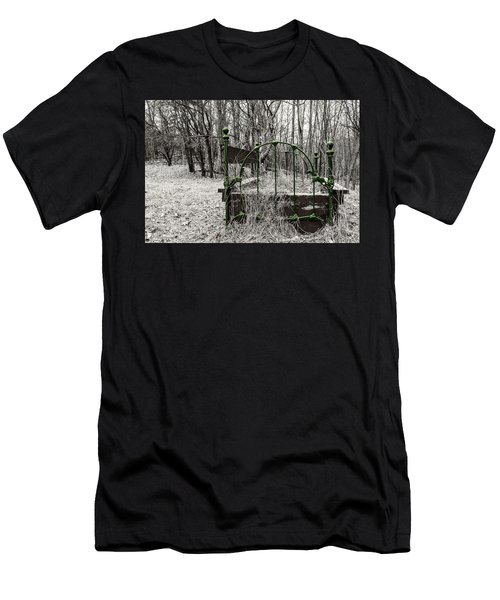 A Bed In The Forest Men's T-Shirt (Athletic Fit)