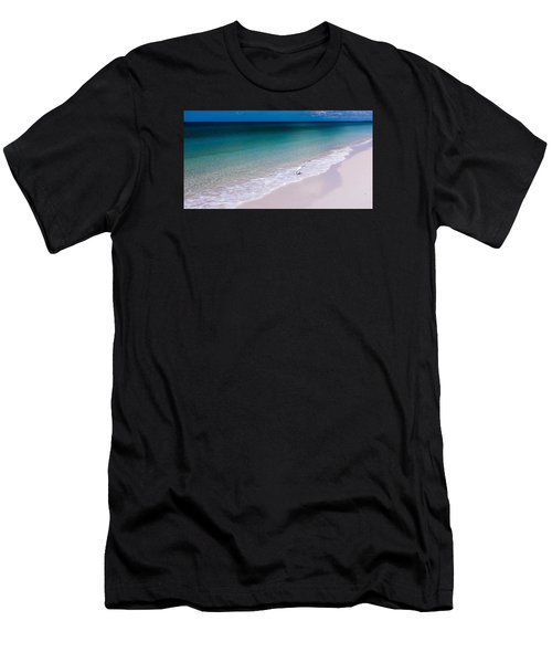 A Bird In Paradise Men's T-Shirt (Athletic Fit)