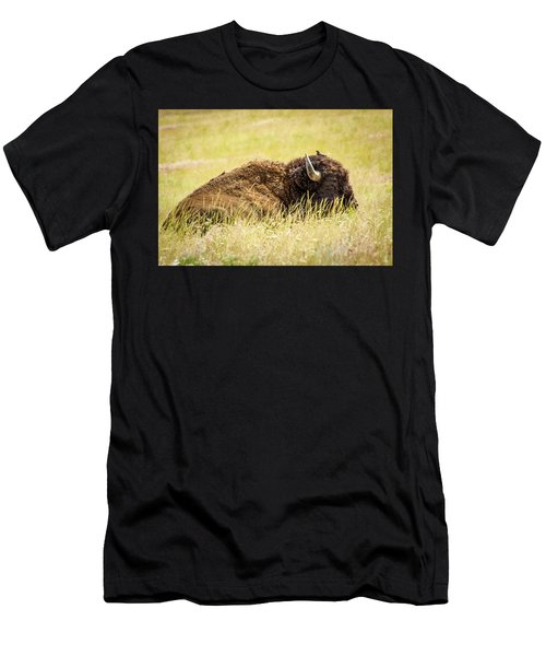 A Bird On The Head... Men's T-Shirt (Athletic Fit)