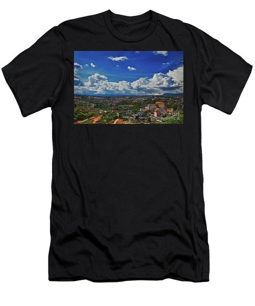 Men's T-Shirt (Athletic Fit) featuring the photograph A Bit Of Disneyland In Dalat, Vietnam, Southeast Asia by Sam Antonio Photography