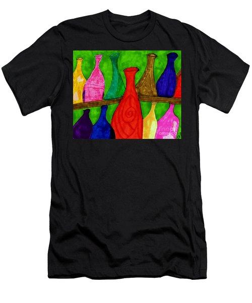 A Bottle Collection Men's T-Shirt (Athletic Fit)