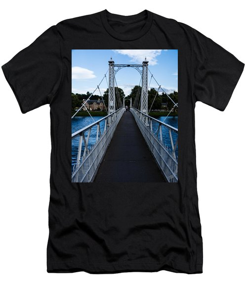 A Bridge For Walking Men's T-Shirt (Athletic Fit)