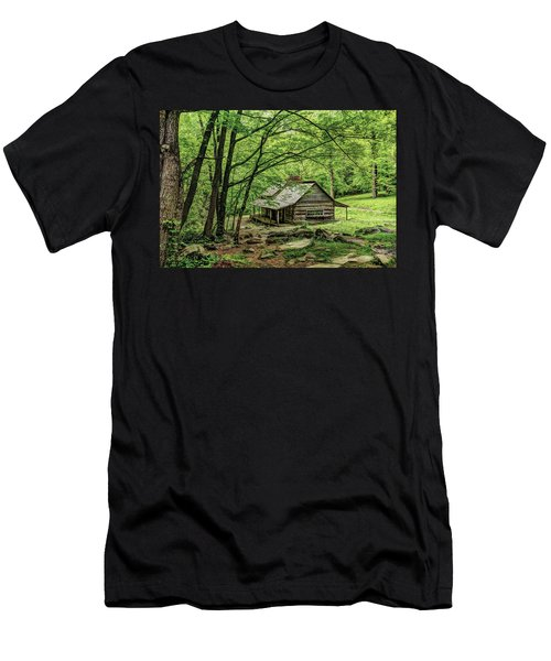 A Cabin In The Woods Men's T-Shirt (Athletic Fit)