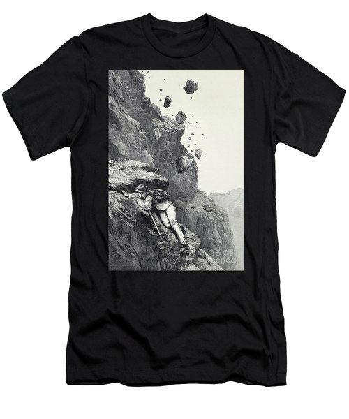 A Cannonade On The Matterhorn Men's T-Shirt (Athletic Fit)