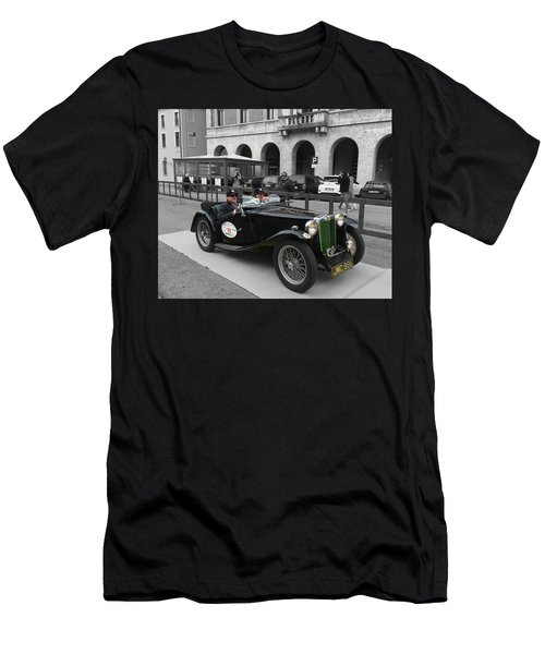 A Classic Vintage British Mg Car Men's T-Shirt (Athletic Fit)