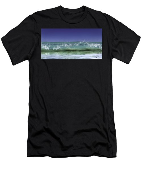 Men's T-Shirt (Athletic Fit) featuring the photograph A Clean Break by Chris Cousins