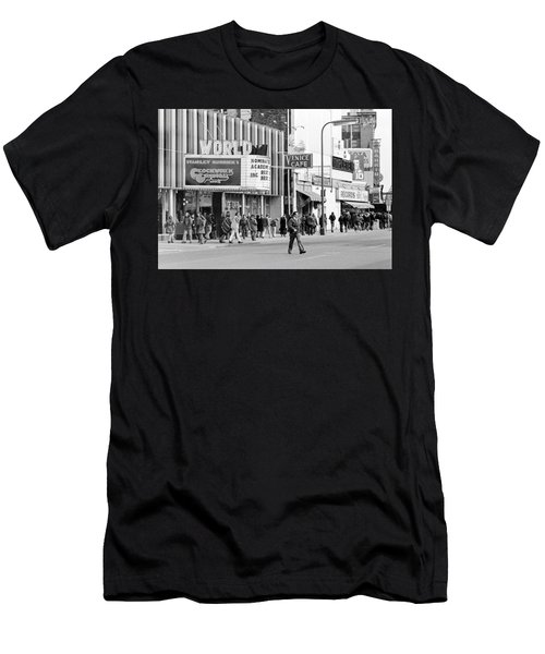 A Clockwork Orange At The World Theater Men's T-Shirt (Athletic Fit)