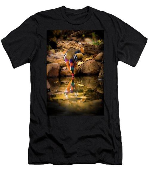 A Cold Drink - Mandarin Drake Men's T-Shirt (Athletic Fit)