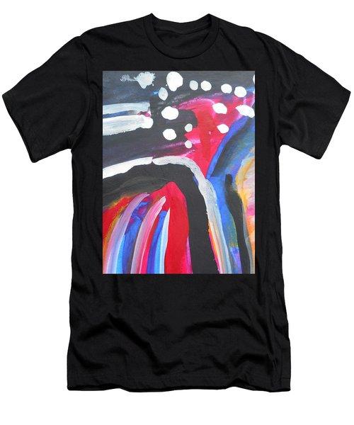 A Colorful Path Men's T-Shirt (Athletic Fit)