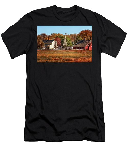 A Country Autumn Men's T-Shirt (Athletic Fit)