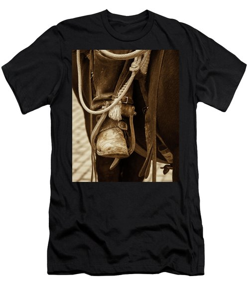 A Cowboy's Boot Men's T-Shirt (Athletic Fit)