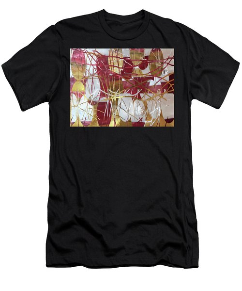 A Dance Of Rubies And Old Gold Men's T-Shirt (Athletic Fit)