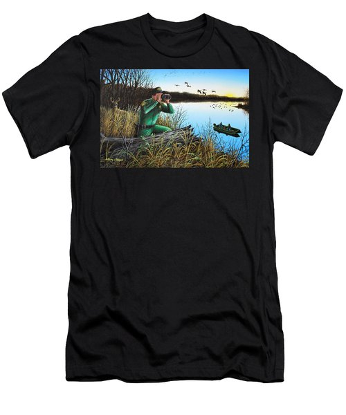 A Day At The Office - Icoo Men's T-Shirt (Athletic Fit)