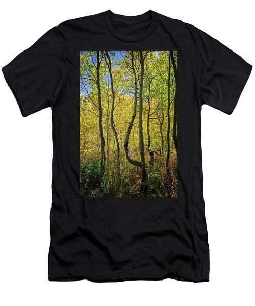 Men's T-Shirt (Athletic Fit) featuring the photograph A Day In The Woods by Scott Read