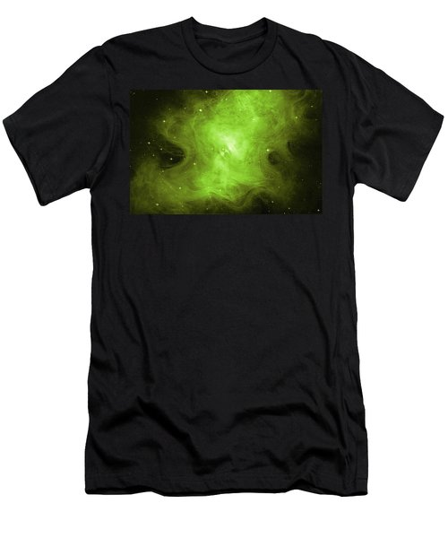Men's T-Shirt (Slim Fit) featuring the photograph A Death Star's Ghostly Glow by Nasa