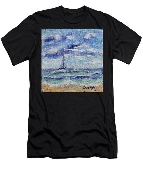 A Distant Sail Men's T-Shirt (Athletic Fit)