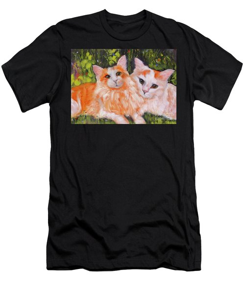 A Duet Of Kittens Men's T-Shirt (Athletic Fit)